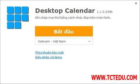 DesktopCal 1 d0859 DesktopCal   Tờ lịch đa dụng và hữu ích cần có trên Windows