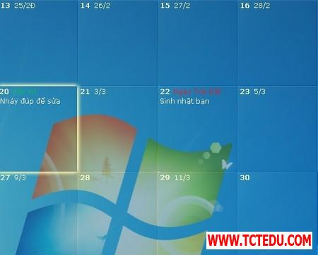 DesktopCal 7 d0859 DesktopCal   Tờ lịch đa dụng và hữu ích cần có trên Windows