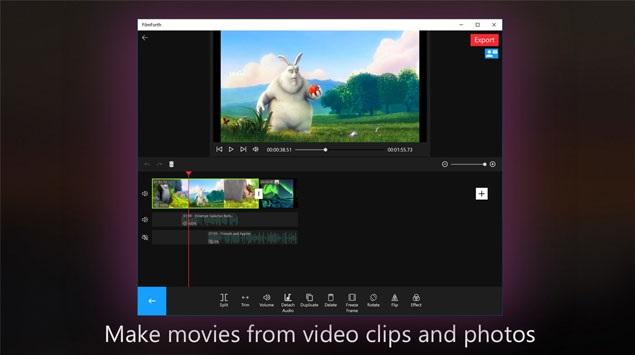 FilmForth dung phim Phần mềm HitFilm Pro