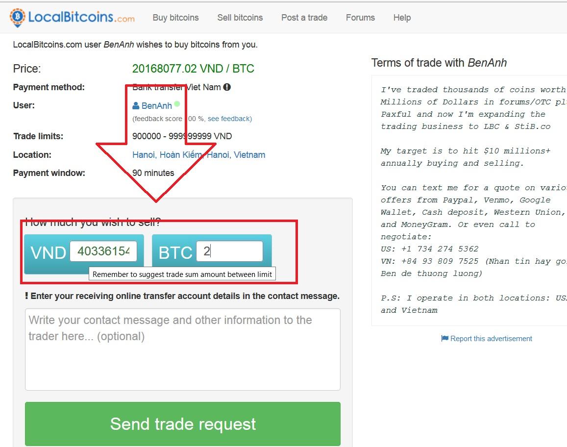 localbitcoins 4 Sàn mua bán, trao đổi Bitcoin, VNĐ, Paypal, MB, PM… giá tốt nhất