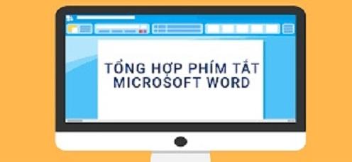 nhung phim tat thong dung trong microsoft word Những phím tắt thông dụng trong Microsoft Word